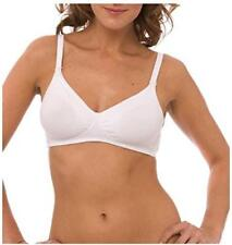 QT Molded Cotton Nursing Bra 44 C White