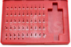 """Shars 50 Pcs M0 .011-.060"""" Class ZZ Steel Pin Plug Gage Gauge Set Minus (-) A}"""