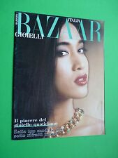 Harper's BAZAAR GIOIELLI ITALIA supplemento Novembre 1985 n.11 DIANA BARTON