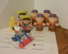 Vintage Peanuts McDonalds Toys 1989