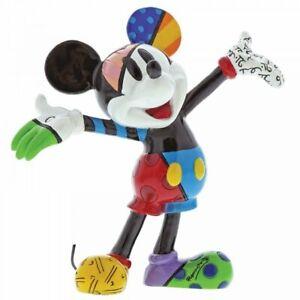 Walt Disney Romero Britto  Figur Mickey Mouse Mini Figur Neu