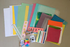 Children Muiltcolored tissue paper ,card and felt Craft Packs