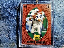 """New listing 1998 Playoff Momentum Colts PEYTON MANNING ROOKIE """"leather"""""""