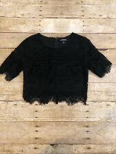 Express Lace Crop Top Xs