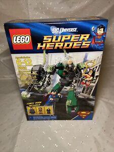 LEGO DC Universe Set 6862 Superman vs Power Armor Lex Luthor Super Heroes NEW