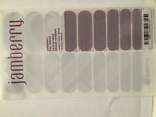 Jamberry Nails (new) 1/2 sheet Dove Grey 0317