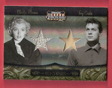 MARILYN MONROE & TONY CURTIS AMERICANA WORN RELIC SWATCH #d250 SOME LIKE IT HOT