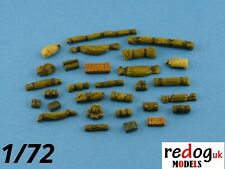1:72 or 1:76 Military Scale Model Stowage Diorama Accessories Kit