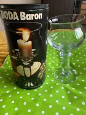 Boda Baron Vintage Rare 1970s  Candlestick Candle Holder Boxed Rolf Sinnemark