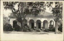 Daytona Fl Palmetto Club c1920s-30s Real Photo Postcard