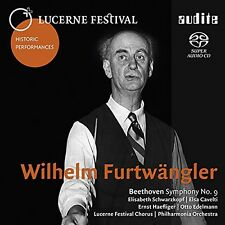 Beethoven / Furtwaen - Wilhelm Furtwangler Conducts Beethovens Sym 9 [New SACD]
