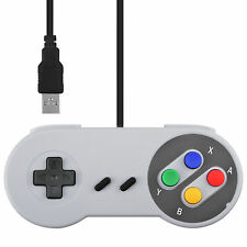 Retro SNES USB Wired Classic Controller GamePad for Windows PC Color