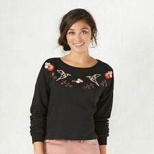 New Disney's Snow White French Terry Crop Sweatshirt by LC Lauren Conrad - M