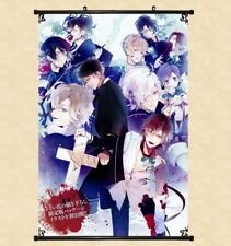 "8""*12""Hot Japan Anime Decor DIABOLIK LOVERS Home Decor Wall poster Scroll 0321"
