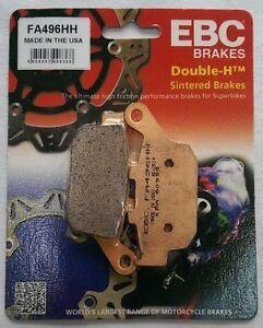 Honda CBR250R (2011 to 2013) EBC Sintered REAR Brake Pads (FA496HH) (1 Set)