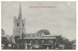 St Andrew's Church, Hornchurch, Essex - 1906 Postcard