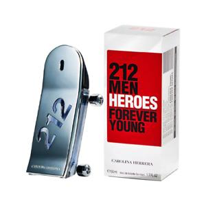 Tester - Carolina Herrera - 212 Heroes EDT For Men 90ML + Sample