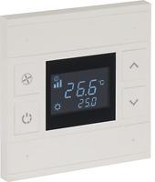 4fach KNX Thermostattaster ORIA · weiß · Heizungssteuerung · Temperatursteuerung