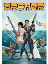 Archer: The Complete Fourth Season [2 Discs] (2014, REGION 1 DVD New) WS