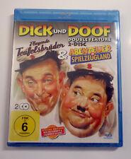 Dick und Doof - Fliegende Teufelsbrüder / Abenteuer im Spielzeugland -2 Blu-Ray