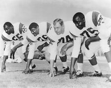 1963 Los Angeles Rams FEARSOME FOURSOME Glossy 8x10 Photo Football Print Poster