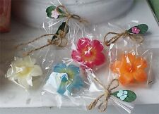 New In Box Scented Peony Floating Candles Single Wrapped Gift Items Asst 4