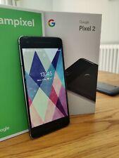 Google Pixel 2 - 64GB - Just Black (Unlocked) Smartphone with Spigen case