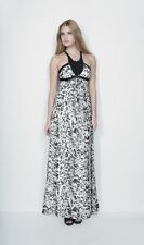 Animal Print Maxi Halter Neck Dresses for Women