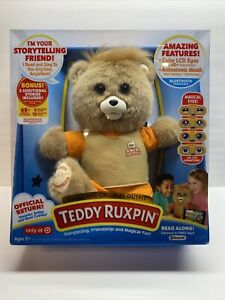 New In Box- TEDDY RUXPIN Interactive Storytelling Friend & Cuddly Bear Age 2+