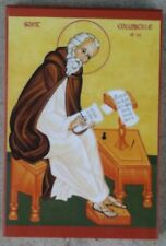 EASTERN ORTHODOX CHRISTIAN ICON OF ST. COLUMBA