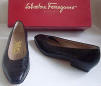 SALVATORE FERRAGAMO Ballet Heels Pump Court Shoes Size US 6 UK 3.5 EU 36.5