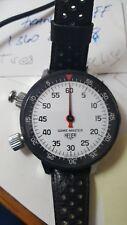 Vintage HEUER Gamemaster wrist stopwatch