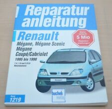 Renault Megane Scenic Coupe Cabrio 1995 1,4 1,6 2,0 Reparaturanleitung B1219