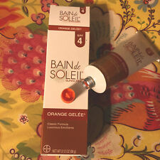 Bain de Soleil Orange Gelée  Spf 4 Sealed Exp 6/21 Classic Formula Discontinued