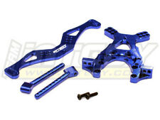 INTEGY T7845BLUE Alloy Front Shock Tower Set for Associated SC10 2WD
