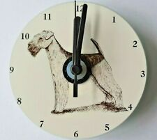 Airedale Terrier CD Clock by Curiosity Crafts
