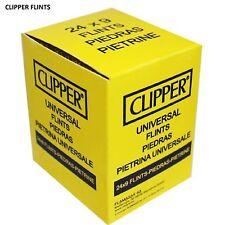 NEW CLIPPER Lighter Flint Universal Flint Fit For All Types Lighters 24 pack box
