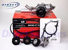 MERCEDES-BENZ KP26PK2260-1 NEW GATES Water Pump + V-Ribbed Belt Kit Micro-V® Kit