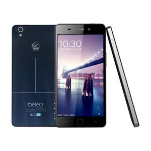"""Beleci Android Smartphone with 5.0"""" Display Touch Screen - Blue"""