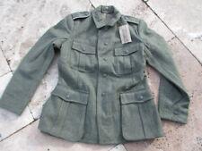 Wh Campo M40 talla 50 UNIFORME Ejército WK2 II Guerra Mundial Chaqueta de