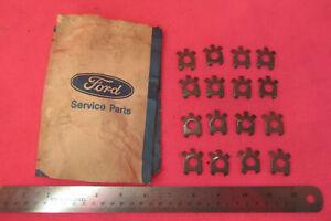 NOS OEM Ford 1958-67 Thunderbird Mustang Exhaust Manifold Bolt Lock Tabs (16)