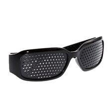 Lochbrille Raster Pinhole Nadelöhr Rasterbrille Augentrainer Entspannung Eye Ger