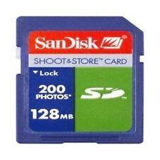 128MB SD Camera Memory Card