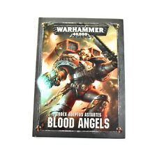 BLOOD ANGELS Codex adeptus astartes Warhammer 40K army book hardcover