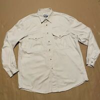 Vintage Rare Levi's Strauss Regulation Issue Khaki Military Safari Shirt Size M