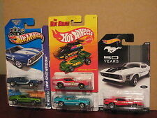 Hot Wheels Lot of 5 '71 Ford Mustang Mach 1 Boss 351 Variation Garage Hot Ones