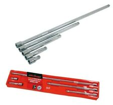 Neilsen Extension Bars - 5pc Set 3/8in. Wobble End / Extra Long CRV CT1235