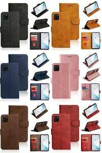 Magnetic Flip Wallet Leather Phone Case Cover For Samsung Galaxy Note10 Lite