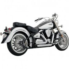 Exhaust shortshots staggered chrome - Vance & hines 18519