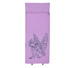 10T Fairy XXL Kinderschlafsack 180x90cm Deckenschlafsack 300g/m² Fee Schlafsack